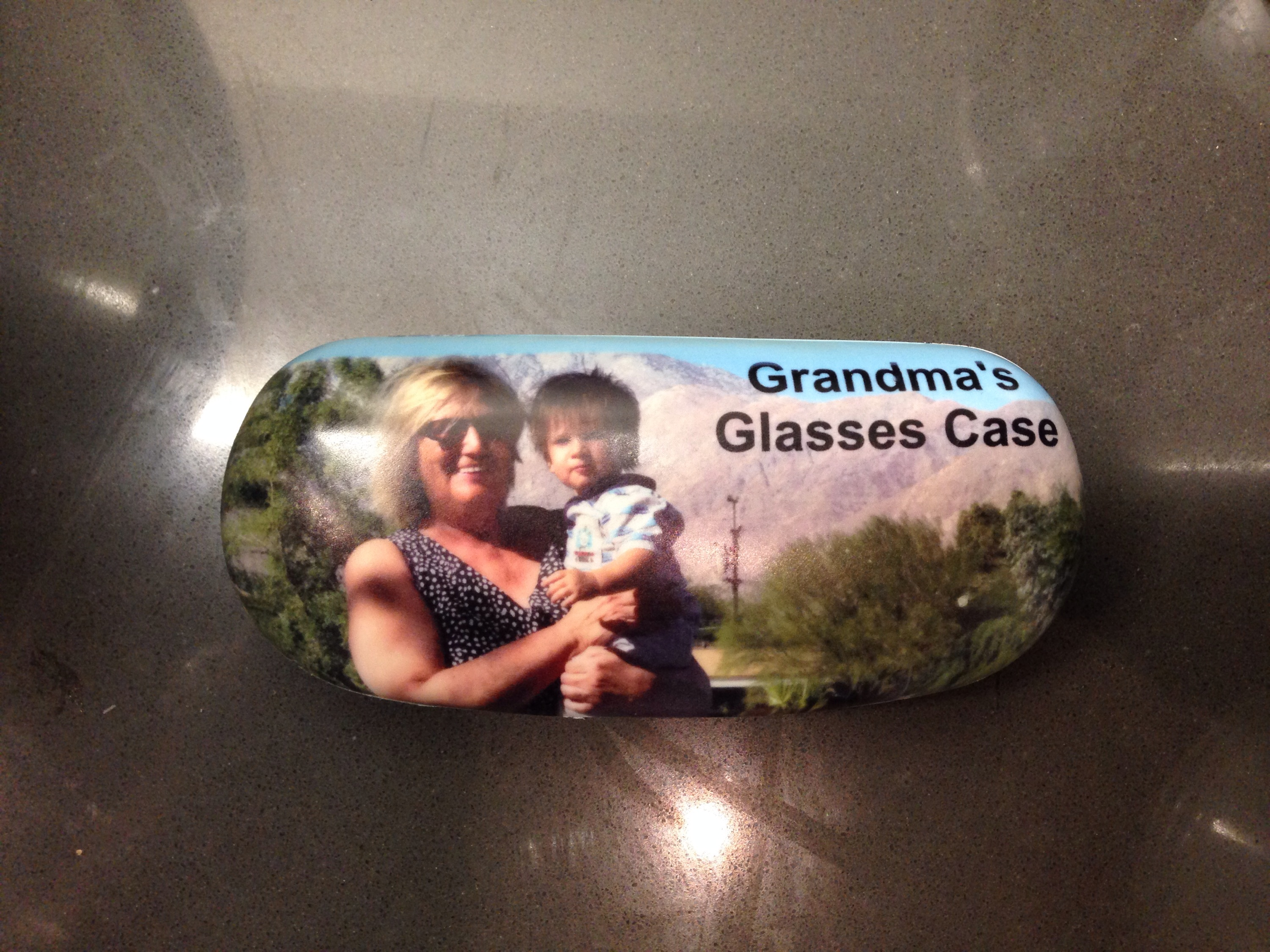 To protect your glasses – a hard personalised case is ideal for a Mothers Day Gift