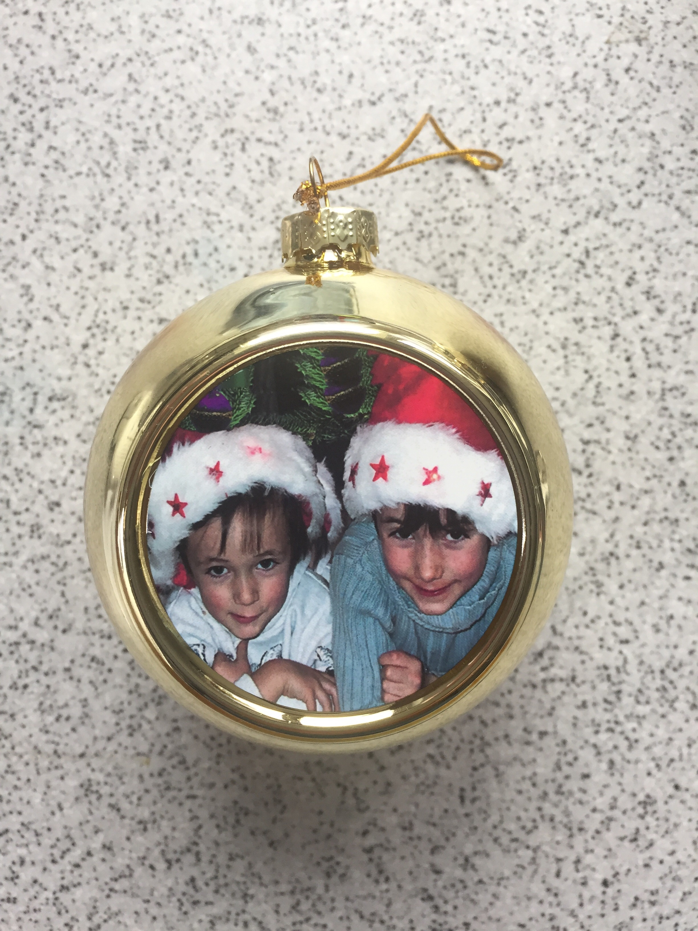 Personalised Christmas Photo Bauble
